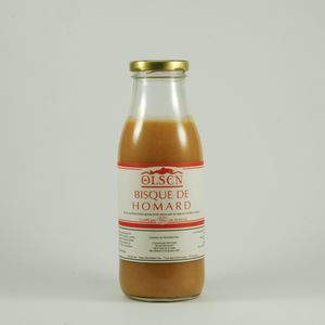 Bisque de homard bocal de 740g