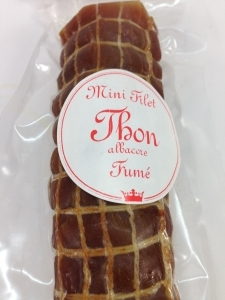 Thon fumé en mini filet de 160g