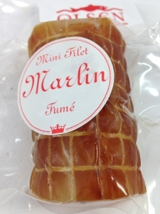 Marlin fumé en mini filet de 160g