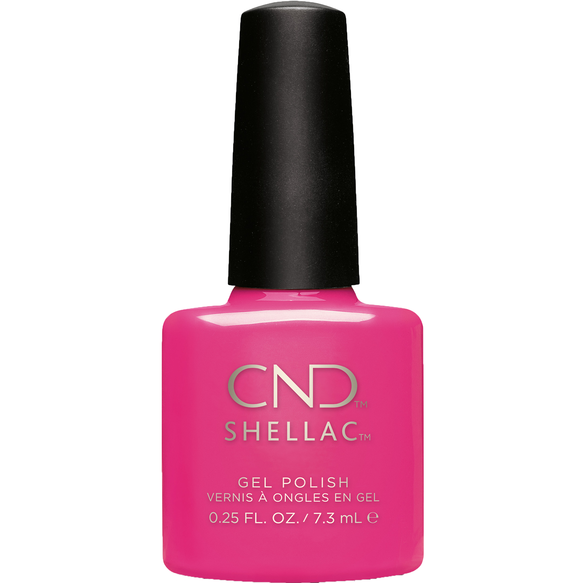 Hot pop pink SHELLAC™