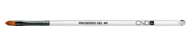 PINCEAU PROSERIES GEL CND™ OVAL PLAT T6