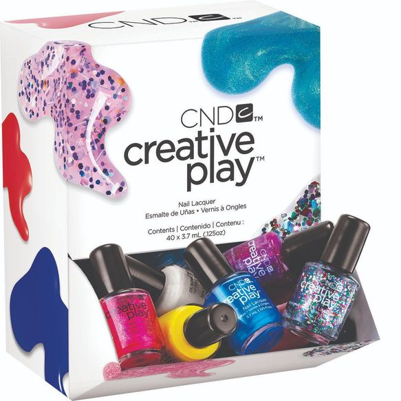 CND ™ CREATIVE PLAY ™ Panier 40 x 3,7 ml