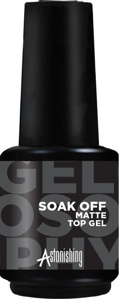 TOP COAT MATTE GELOSOPHY™