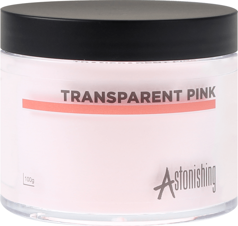 POUDRE ASTONISHING™  TRANSPARENT PINK - 100 gr