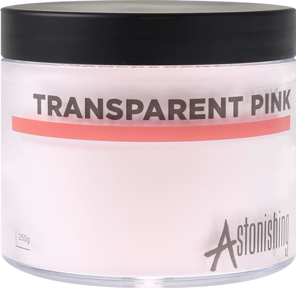 POUDRE ASTONISHING™  TRANSPARENT PINK - 250 gr