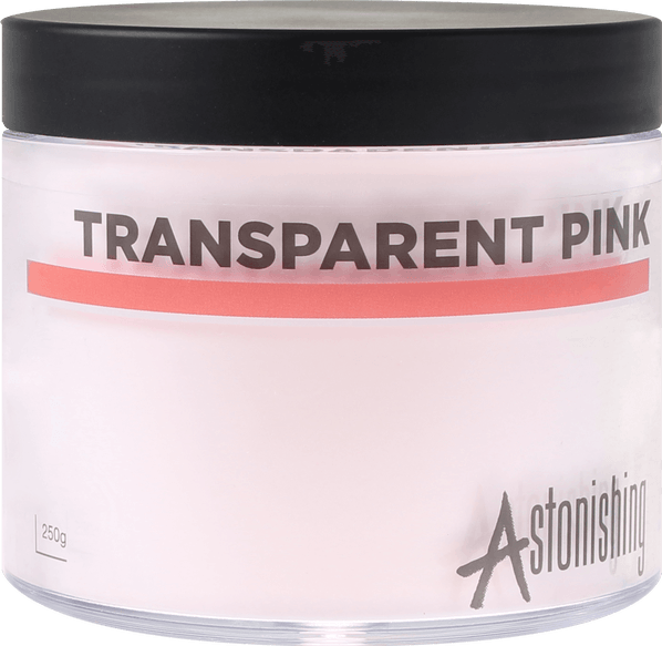 POUDRE ASTONISHING™  TRANSPARENT PINK - 1 kg (4x250 gr)