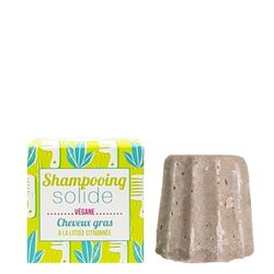 Solid shampoo greasy hair with lemon litsea
