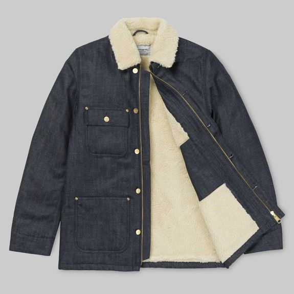 FAIRMOUNT COAT BLUE RIGID