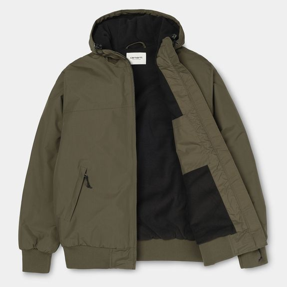 HOODED SAIL JACKET