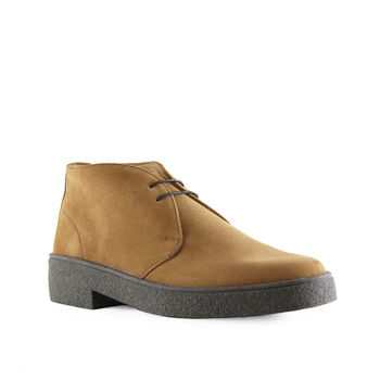 LUTHER CAMEL SUEDE