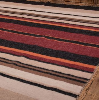 1969 SUNSET BLANKET RED