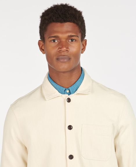 Stirling Overshirt Ecru