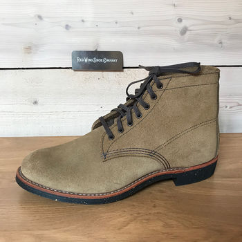 Wing HommeN ShoesBottes Chukka Red Red Wing v8wNn0m