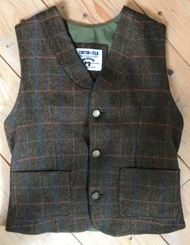 VESTON LUCIEN TWEED