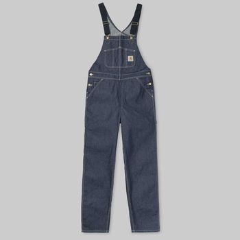 BIB OVERALL BLUE RIGID