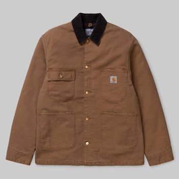 ORIGINAL SHORE COAT HAMILTON BROWN
