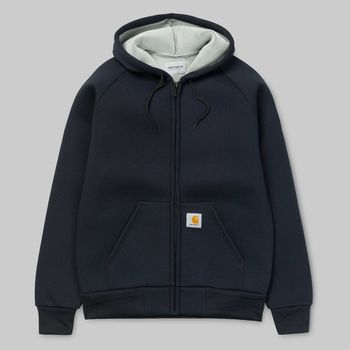 CAR-LUX HOODED JACKET DARK NAVY