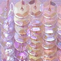 CUP SEQUINS 5 MM IN LIGHT PINK IRIDESCENT