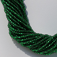 ROUND BEADS WITH SQUARE HOLE 11°