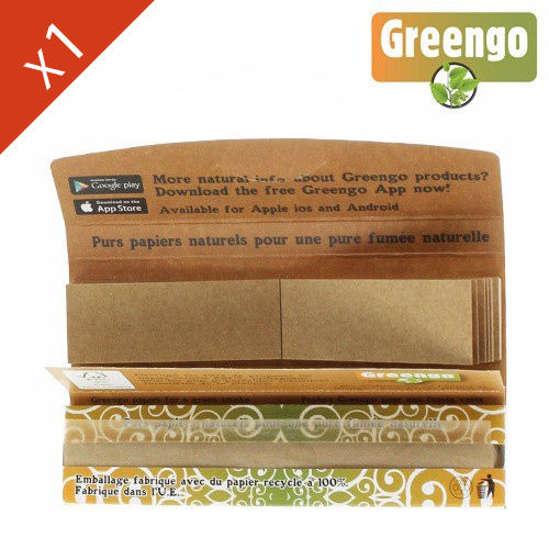 Carnet Feuille à Rouler Greengo © King Size Slim + Tips