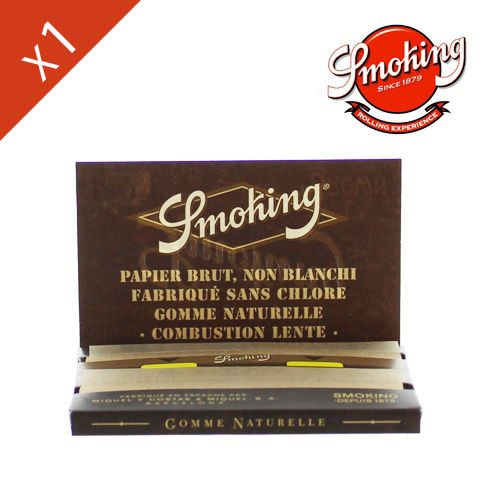 Carnet de Petite Feuille à rouler Smoking © Brown Regular