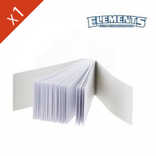 Carnet de Filtre Elements © Wide (large) en carton
