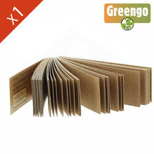 Carnet de filtre Greengo © Brown en carton  (papier marron)