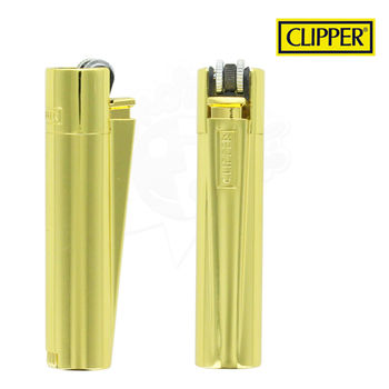 Briquet Clipper © Métal Gold