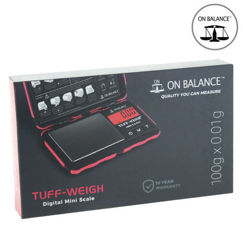 Balance Electronique On Balance © Tuff Weigh (Rouge) : 100 > 0.01gr