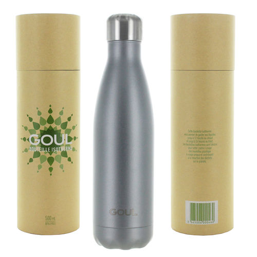 Bouteille isotherme Goul © 500ml (Anthracite)