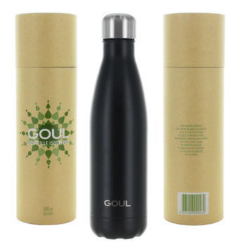 Bouteille isotherme Goul © 500ml (Noir)