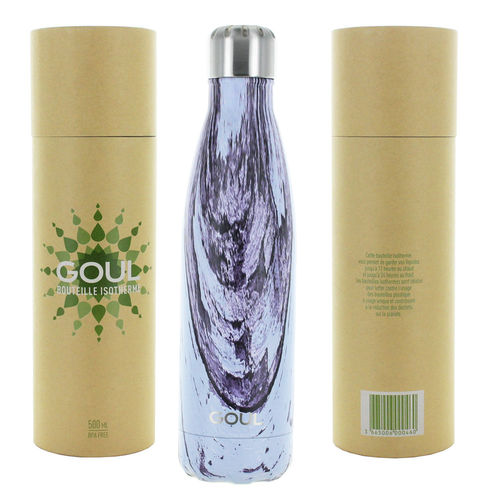 Bouteille isotherme Goul © 500ml (Purple Wood)