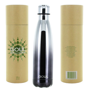 Bouteille isotherme Goul © 500ml (Black Silver)