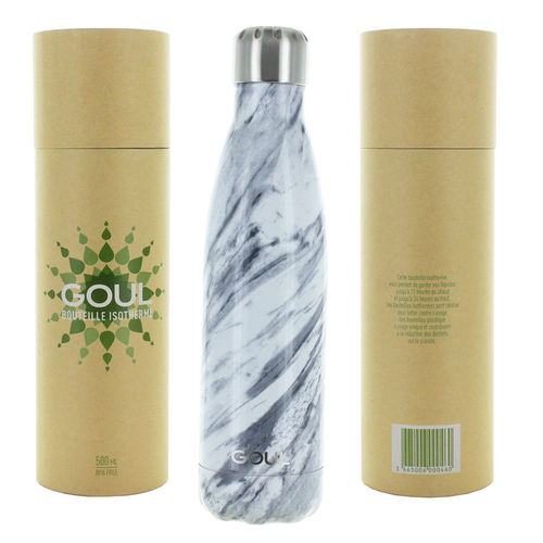Bouteille isotherme Goul © 500ml (Grey White)