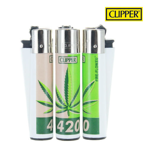 Briquet Clipper © 420 Leaf