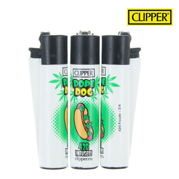 Briquet Clipper © 420 Junk Food Hot-Dog