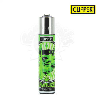 Briquet Clipper © 420 Animal Lama