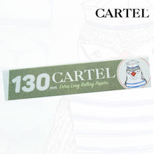 "Carnet de feuille Slim Blanc Cartel © Extra Long 130mm ""Pingouin"""