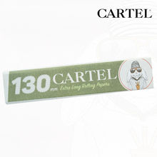"Carnet de feuille Slim Blanc Cartel © Extra Long 130mm ""Lapin"""