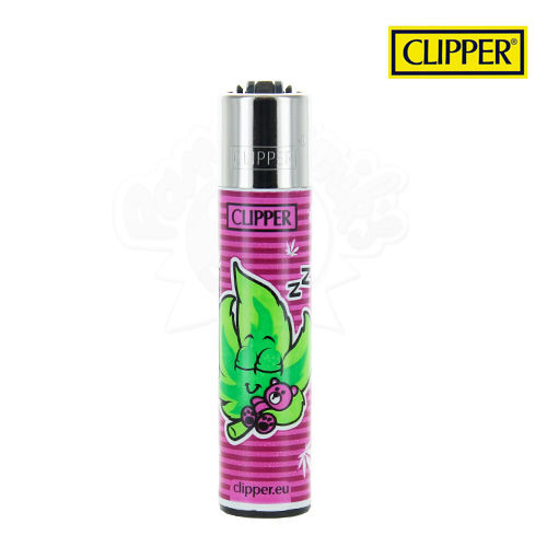 Briquet Clipper © Green Man (Rose)