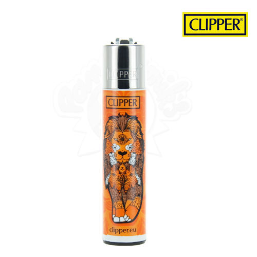 Briquet Clipper © Animal Mandala Lion