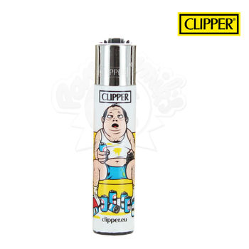 Briquet Clipper © Daddy TV Addict
