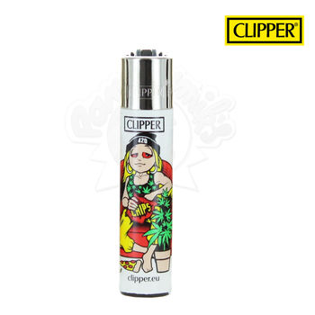 Briquet Clipper © Girl TV Addict