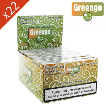 Boite de Grande Feuille à Rouler Greengo © King Size Slim Ultimate 3 en 1