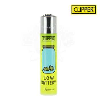 Briquet Clipper © Think Green 'Battery""