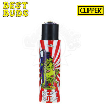 Briquet Clipper © Best Buds 01 avec Grinder