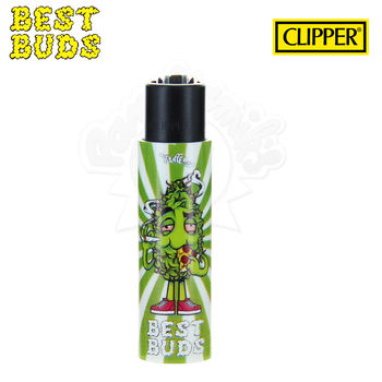 Briquet Clipper © Best Buds 02 avec Grinder