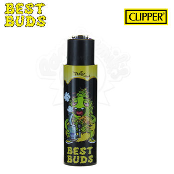Briquet Clipper © Best Buds 03 avec Grinder