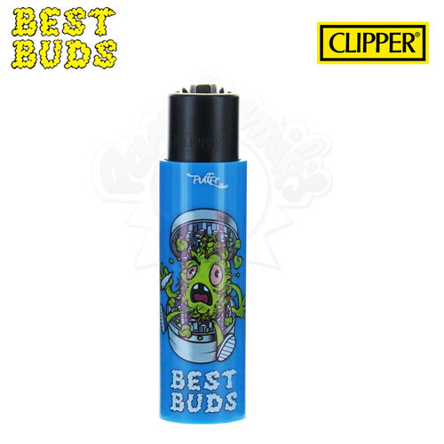 Briquet Clipper © Best Buds 05 avec Grinder