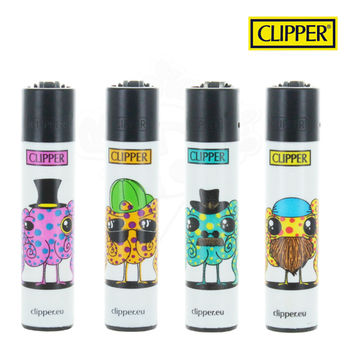 Lot de 4 Briquets Clipper © Octopus